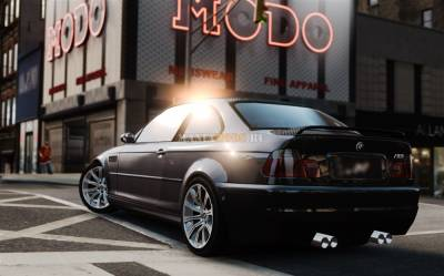 Скриншот BMW M3 E46 Street Version v1.0