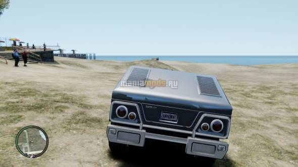 Скриншот GTA III HD Patriot v1.0