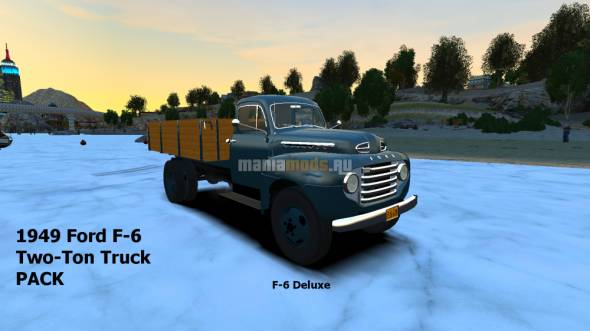 Скриншот 1949 Ford F-6 Two-Ton Truck PACK v1.0