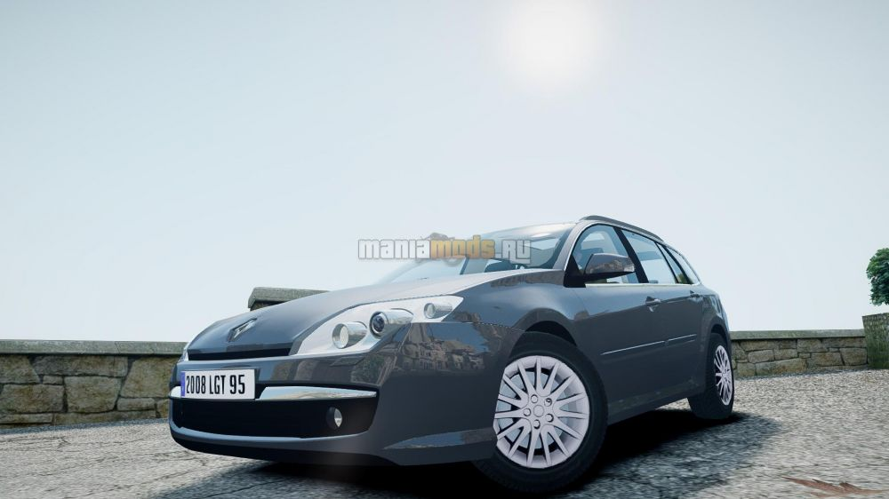 Renault Laguna III.1 Estate v1.0 для GTA IV - Скриншот 1