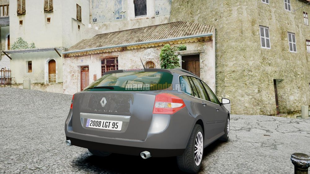 Renault Laguna III.1 Estate v1.0 для GTA IV - Скриншот 2