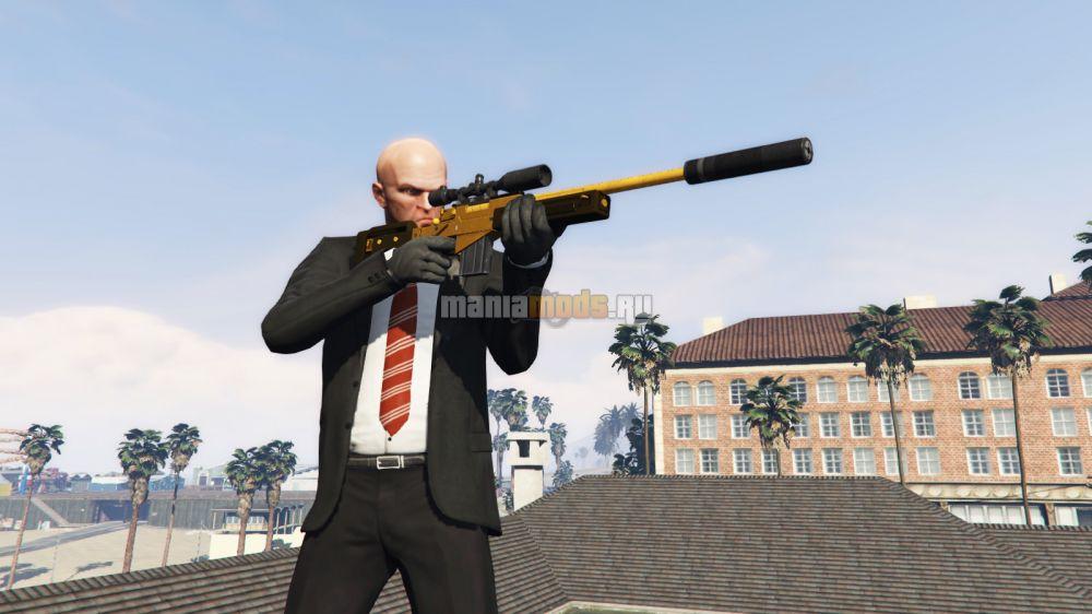 Hitman / Наёмный убийца v1.0 для GTA V - Скриншот 2