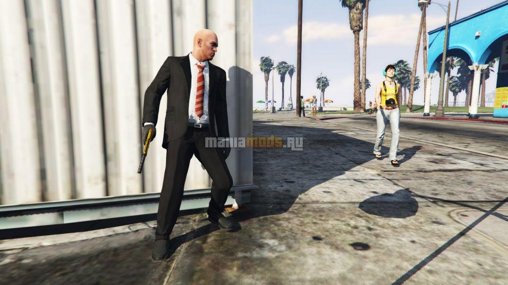 Hitman / Наёмный убийца v1.0 для GTA V - Скриншот 1