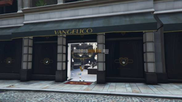 Vangelico Jewellery Store Heist / Ограбление ювелирного магазина v0.3 для GTA V - Скриншот 2