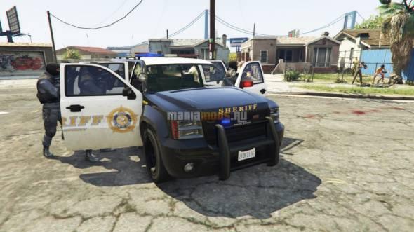 Cop Caller App / Вызов полиции v0.1 для GTA V - Скриншот 2