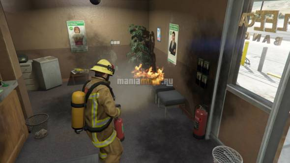 Firefighter / Пожарный v1.0-RC1 для GTA V - Скриншот 2