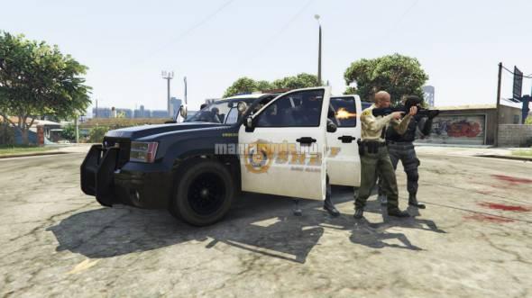 Cop Caller App / Вызов полиции v0.1 для GTA V - Скриншот 1