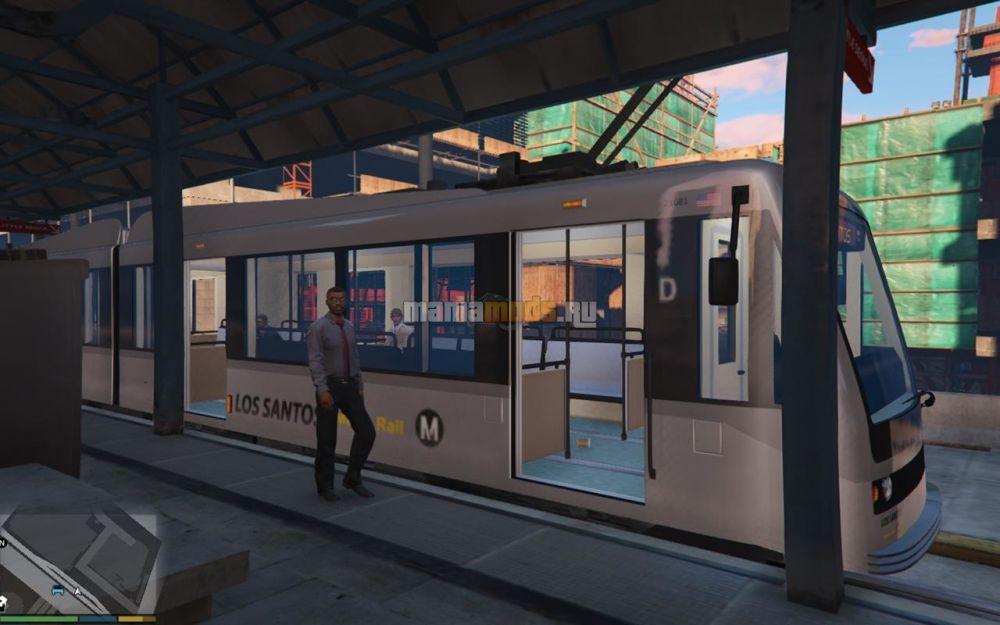 New Metro Train Textures v1.0 для GTA V - Скриншот 1