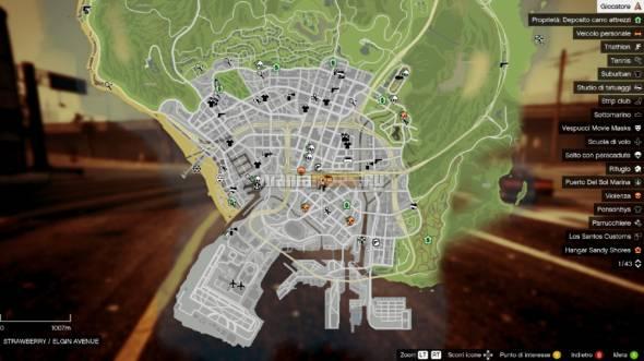 Colored and Satellite Map v0.2 / Новые карты – стандартная в цвете и спутниковая для GTA V - Скриншот 2