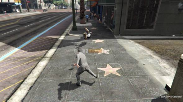 Super Punch [.NET] v1.0 — Суперудар рукой и ногой для GTA V - Скриншот 2