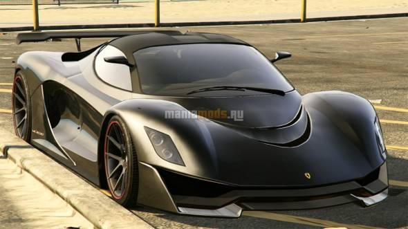 La Ferrari HD Badge v1.0 / Текстуры LaFerrari в HD для GTA V - Скриншот 1