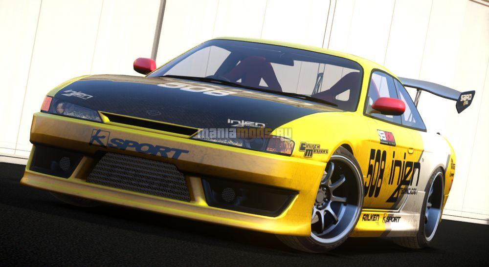 Nissan Silvia S14 v1.0 для GTA IV - Скриншот 1