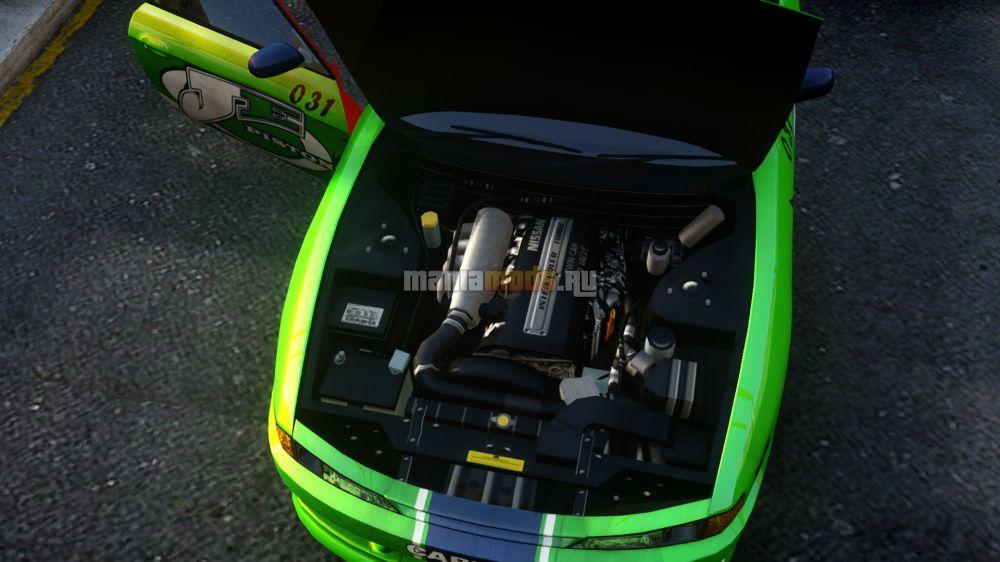 Nissan Silvia S14 v1.0 для GTA IV - Скриншот 2