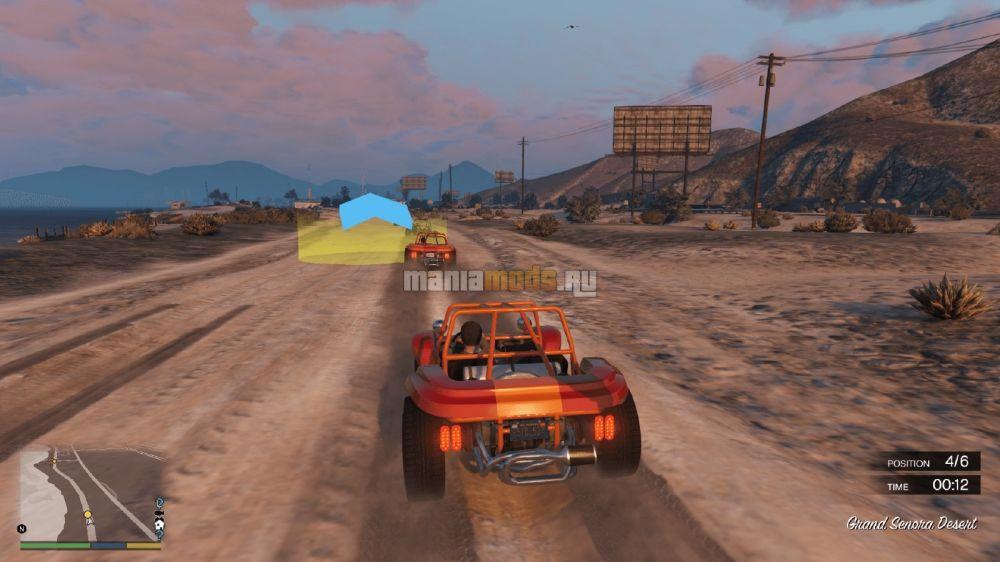 Community Races v1.2 — Гонки сообществ для GTA V - Скриншот 1