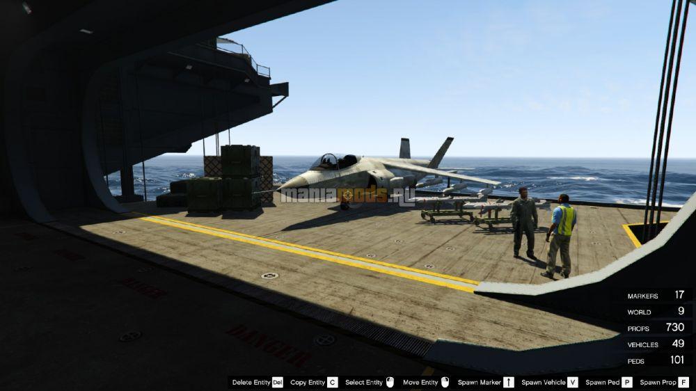 скачать мод на авианосец для гта 5 - фото 10