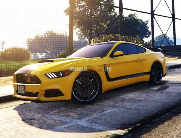 Скриншот Ford Mustang BOSS 302 Paintjob v2.0
