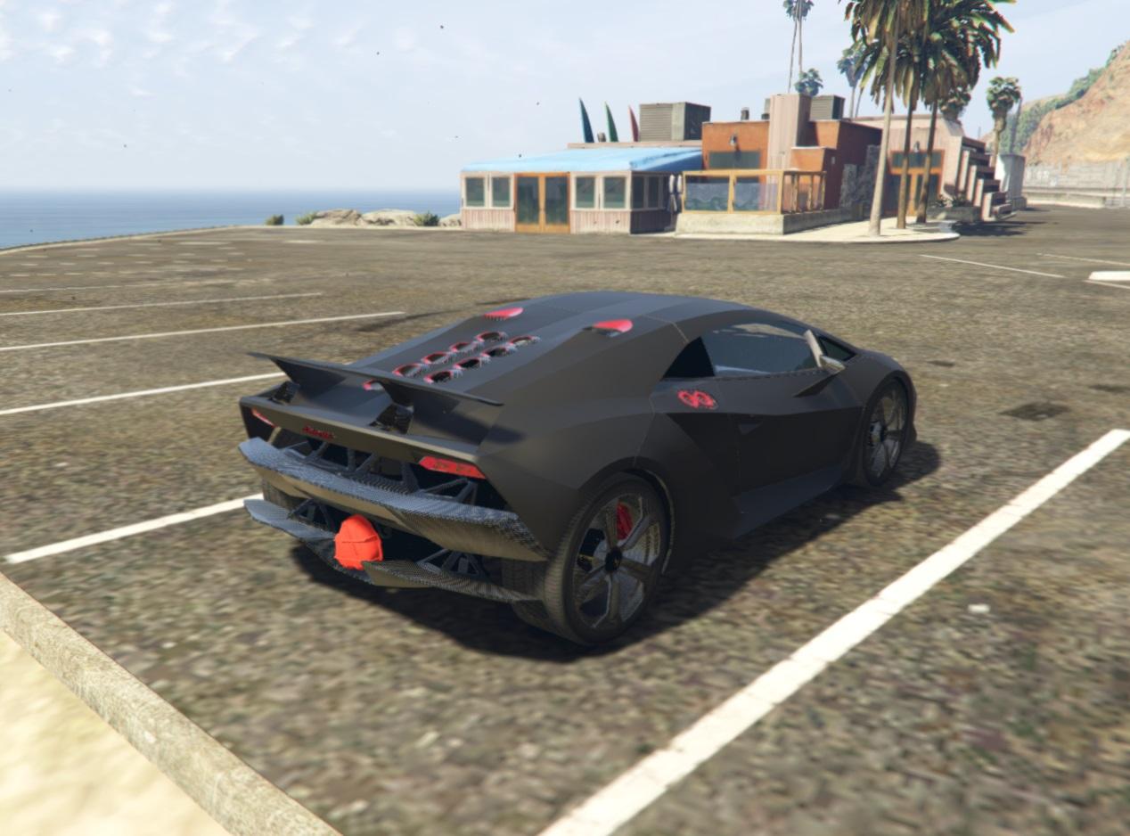 Lamborghini gta 5 location
