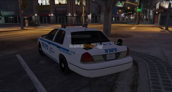 Скриншот NYPD HD texture for CVPI v0.1