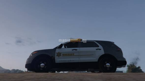 Скриншот 4K LASD Texture for the Ford Explorer v1.1