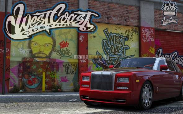 Скриншот WestCoast Customs L.A. (Benny's Motor Works)