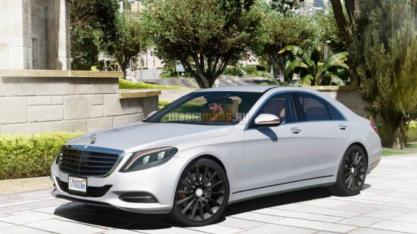 Скриншот Mercedes-Benz S500 W222 [Add-On / Replace]