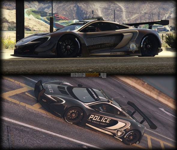Скриншот McLaren 650s GT3 Pursuit Edition [Add-On / Replace]