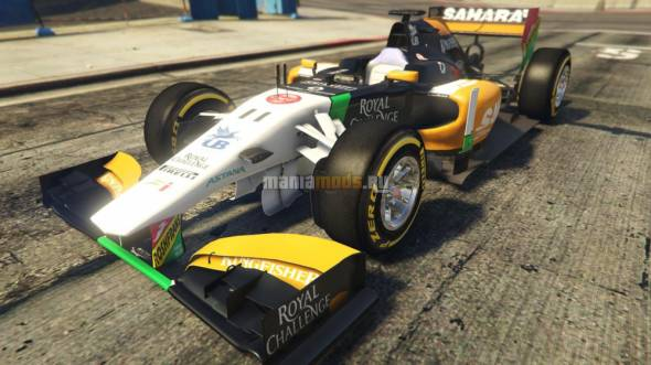 Скриншот Force India2 F1 [Add-On / Replace]