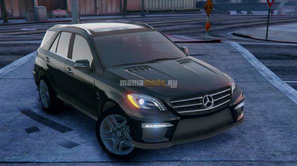 Скриншот Mercedes-Benz ML63 AMG 2014