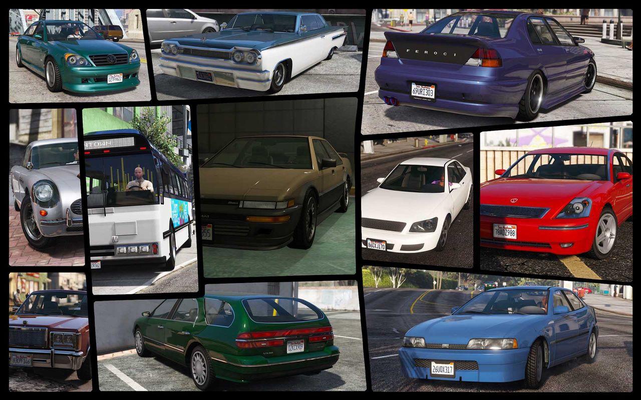 IVPack - GTA IV vehicles in GTA V [OIV]
