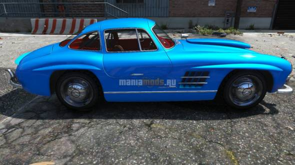 Скриншот 1954 Mercedes-Benz 300 SL Gullwing
