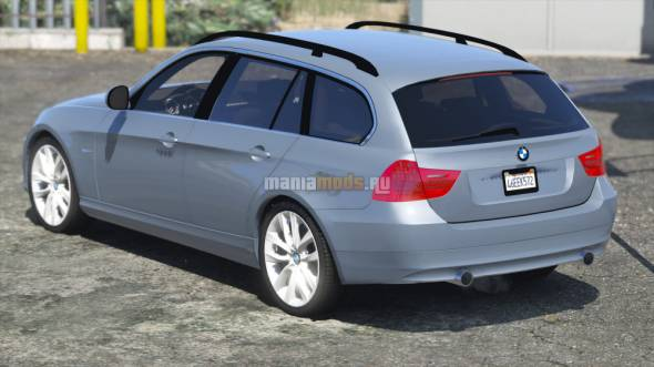 Скриншот 2011 BMW 330D Touring (Stock)
