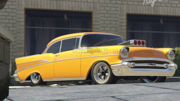 Скриншот 1957 Chevrolet Bel Air Sport Coupe [Tuning / Add-On]