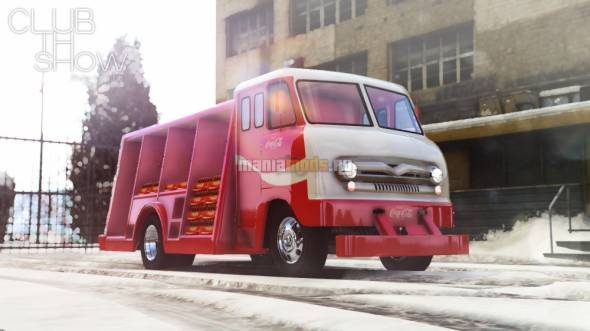 Скриншот 1964 Ford P600 Coca-Cola Delivery Truck [Add-On]