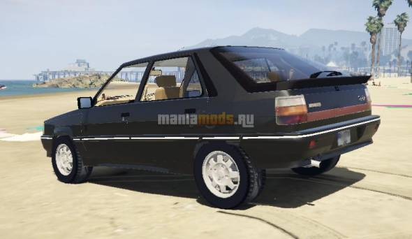 Скриншот Renault 11 Flash Turbo