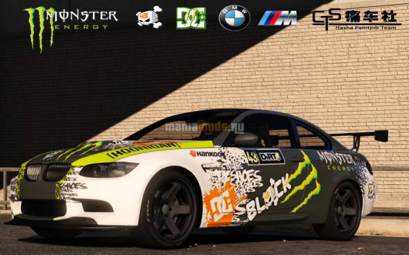 Скриншот BMW M3 E92 GTS Monster Energy Fictional Art Car