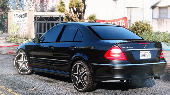 Скриншот Mercedes-Benz E55 W211 AMG [Add-On / Replace]