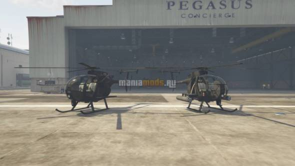Скриншот AH-6 and MH-6 Littlebirds (Add-On Pack)