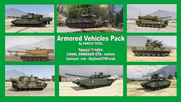 Скриншот Armored Vehicles Pack [Add-On]