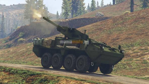 Скриншот M1128 Stryker Mobile Gun System [Add-On]