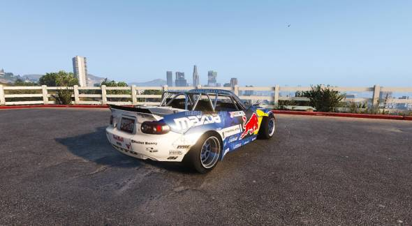 Скриншот Mazda MX5 Mad Mike [Add-On / Replace]