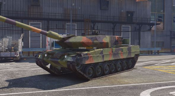 Скриншот Leopard 2A6 German MBT [Add-On]