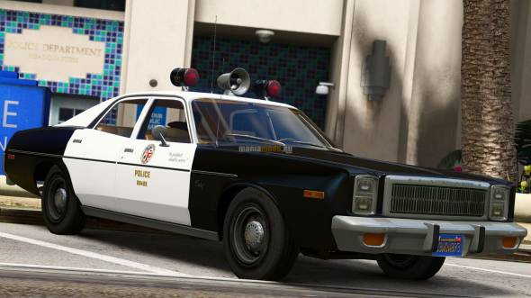Скриншот 1978 Plymouth Fury - Los Angeles Police Department