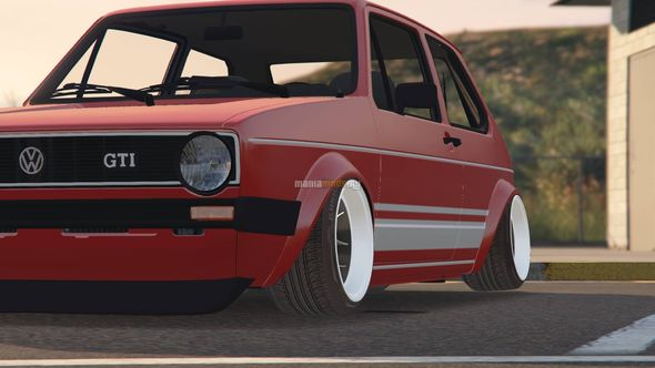Скриншот Volkswagen Golf MK1 (Stock & Camber) [Add-On / Replace]