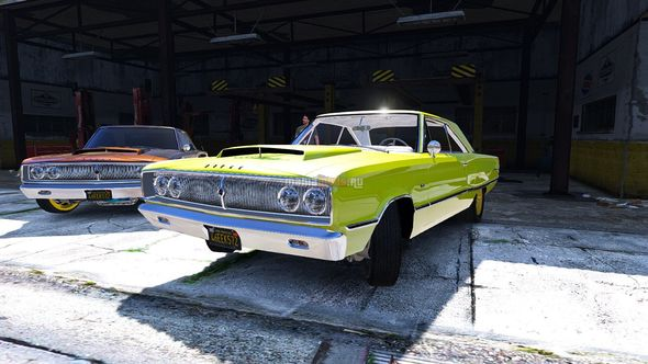 Скриншот 1967 Dodge Coronet 440 [Add-On / Replace]