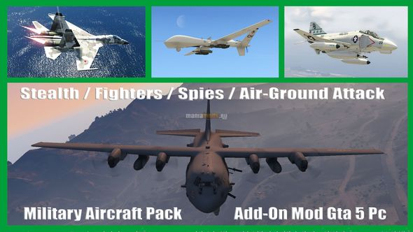 Скриншот Military Aircraft Pack [Add-On]