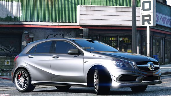 Скриншот Mercedes-Benz A45 AMG [Add-On]