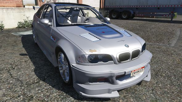 Скриншот 2002 BMW M3 GTR Street Version [Tuning]