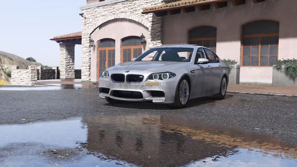 Скриншот 2016 BMW M5 F10 [Add-On]
