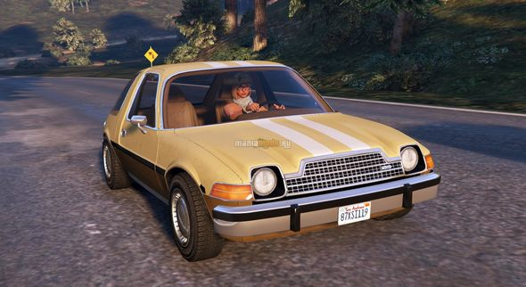 Скриншот AMC Pacer 1976 [Add-On / Replace / Tuning]