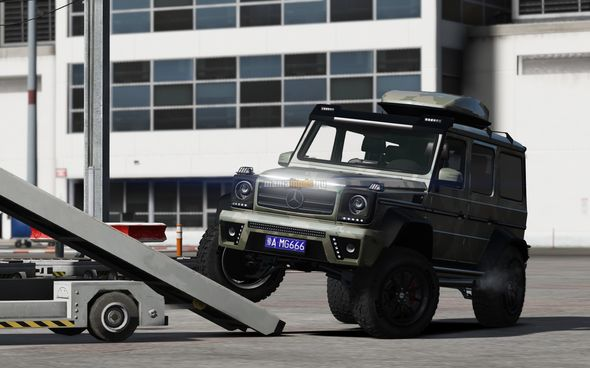 Скриншот Mercedes-Benz G-Class [Add-On / Tuning]